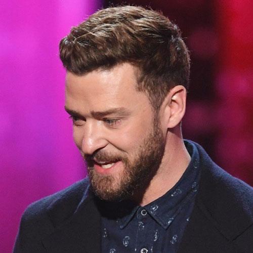 Cool Justin Timberlake Haircuts with Beard