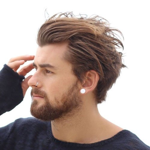Cool Men's Hairstyles with Flow