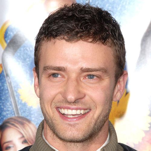 Cute Justin Timberlake Curly Hair