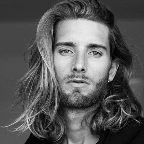 Long Flowing Hair For Men