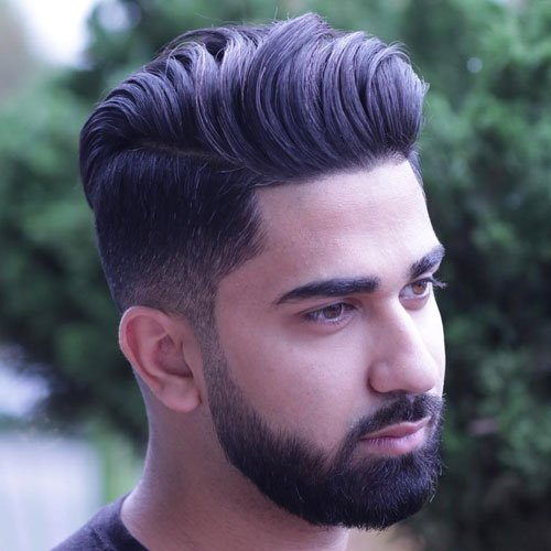 man style hair 25 modern hairstyles for 2019 update 9022 | Long Top Short Sides Beard