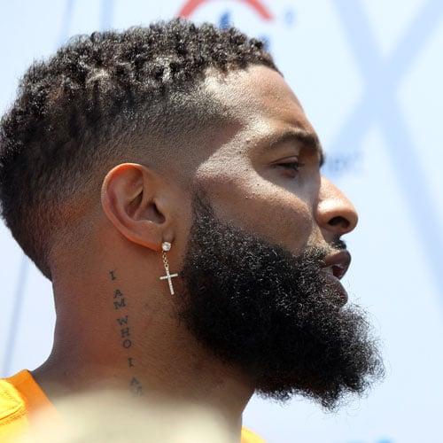 Odell Beckham Jr New Haircut