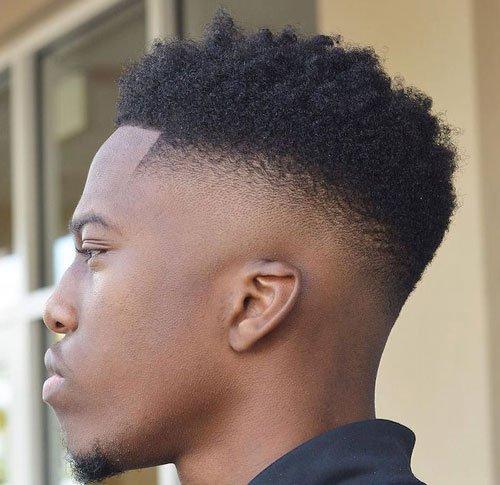 Black Men Haircuts - Hi Skin Fade, Twists