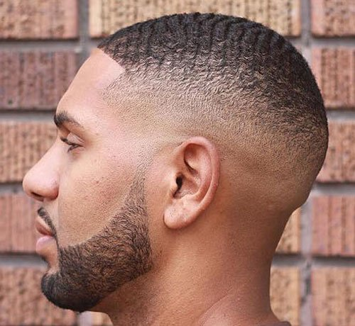 Black Men Hairstyles - Cool Skin Fade, Waves