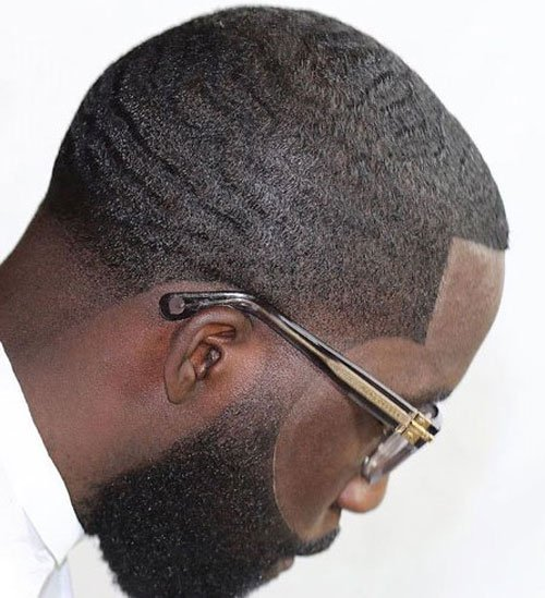 Black Men Hairstyles - Line Up, Waves