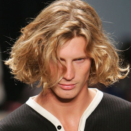 Cool Men's Long Hair