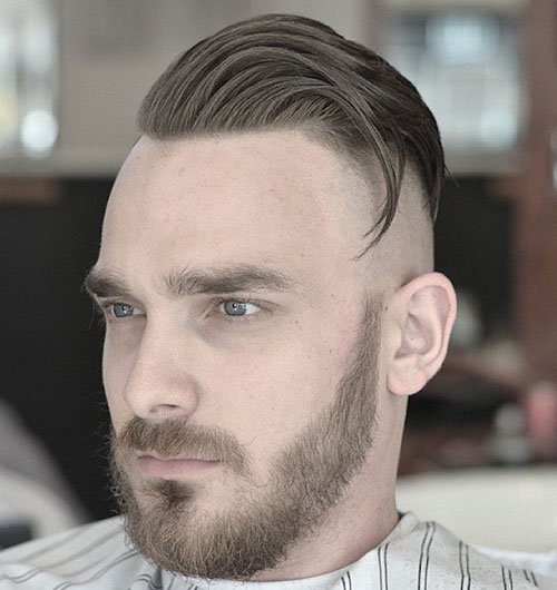 Fade Haircut - High Bald Fade