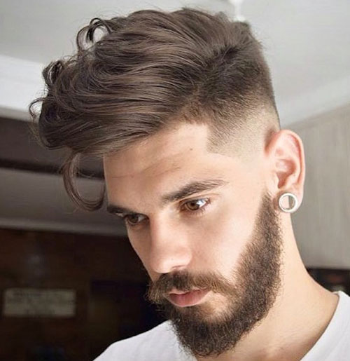 Fade Haircut - High Fade With Long Hair