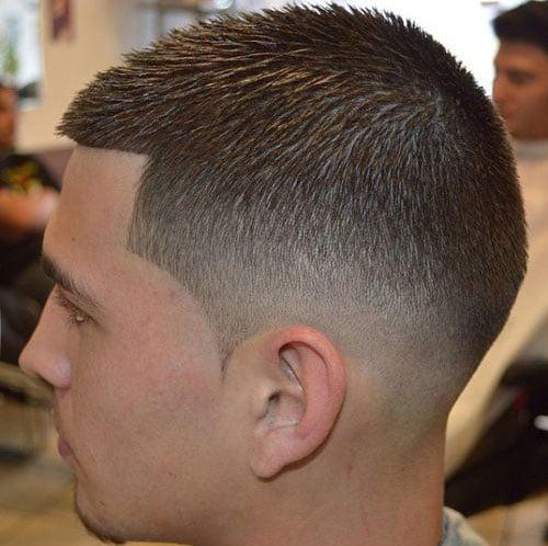 Fade Haircut - Mid Fade