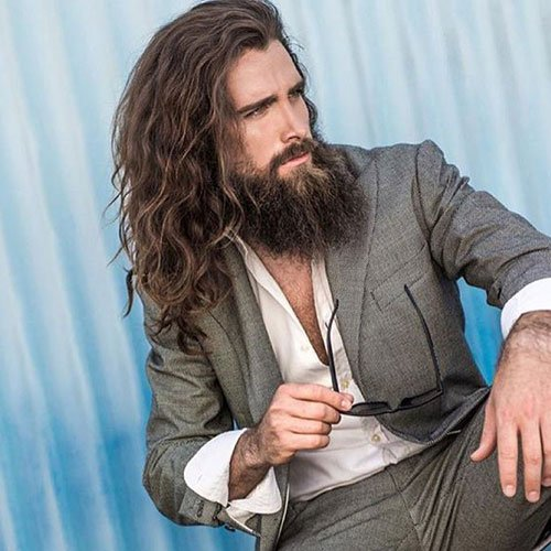 long hair guys styles how to grow your hair out hair for 1637 | Hairstyles For Men With Long Hair