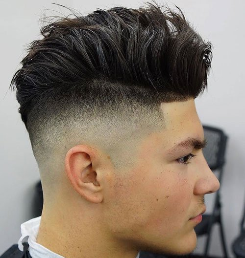 21 Top Mens Fade Haircuts 2017 Mens Hairstyles - Comb Over Hairstyle