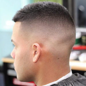 High Razor Fade + Short Hair on Top