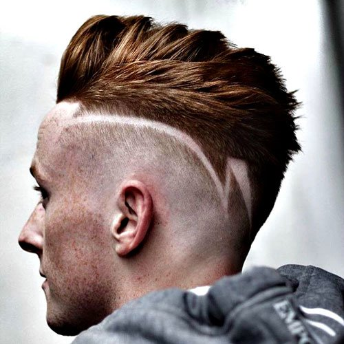 Fade haircuts with Design