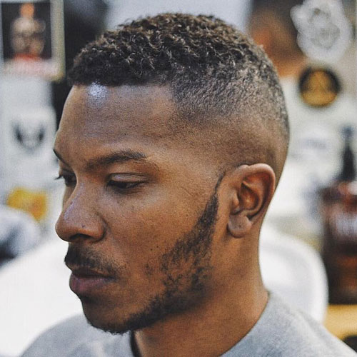 High and Tight Fade For Black Men