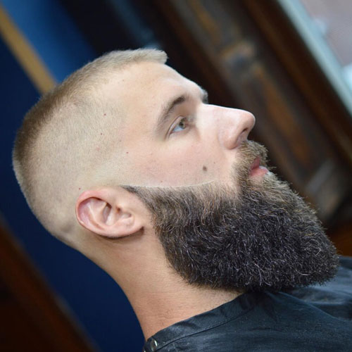 Long Beard + Classic Military High and Tight