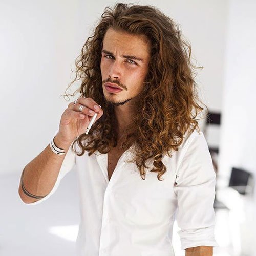 How to grow your hair out long hair for men mens hairstyles long wavy hairstyles for men urmus Images