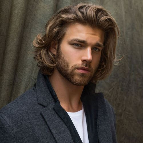 Sexy Long Hair Men