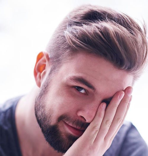 hairstyles with weaves : 19 Short Sides Long Top Haircuts - Mens Hairstyles + Haircuts 2017
