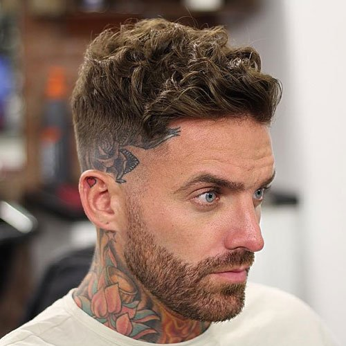 29 Wavy Hairstyles For Men 2018