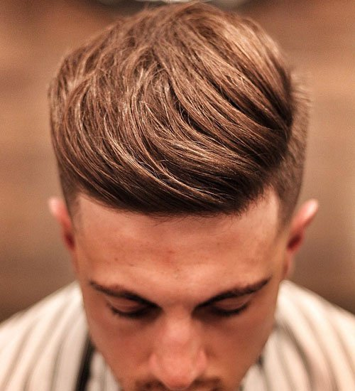 Side Quiff with Classic Tapered Sides