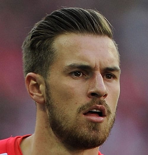 Soccer Player Haircut - Aaron Ramsey