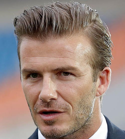 Soccer Player Haircuts - David Beckham