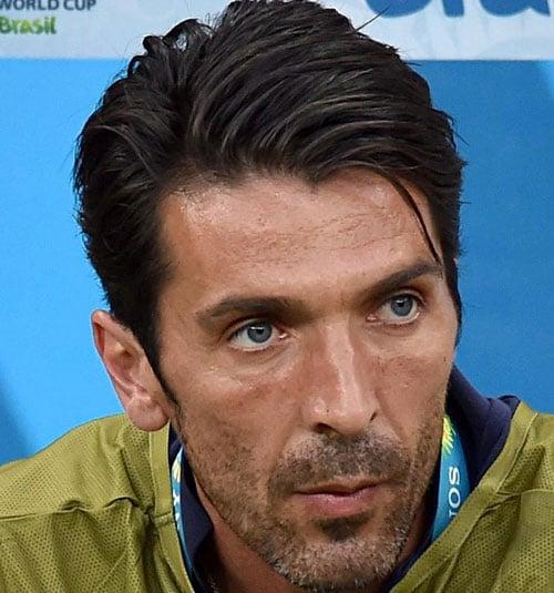 Soccer Player Haircut - Gianluigi Buffon
