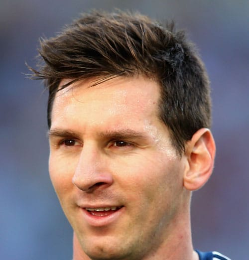 Soccer Player Haircut - Lionel Messi