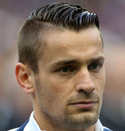 Soccer Player Haircuts - Mathieu Debuchy