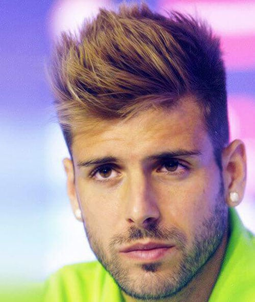 Soccer Player Haircut - Miguel Veloso
