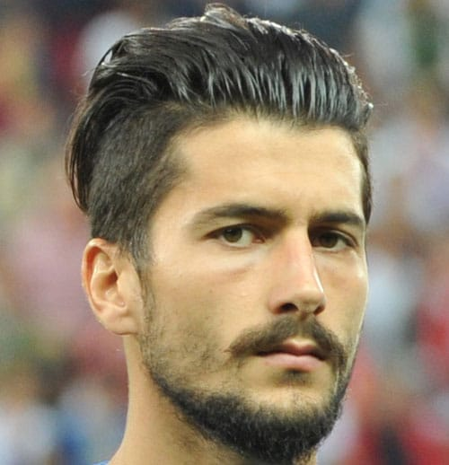 Soccer Player Haircut - Panagiotis Kone