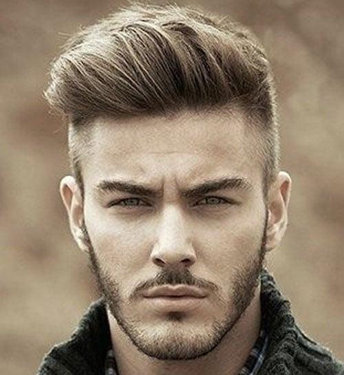 Undercut Hairstyle - Pompadour Undercut