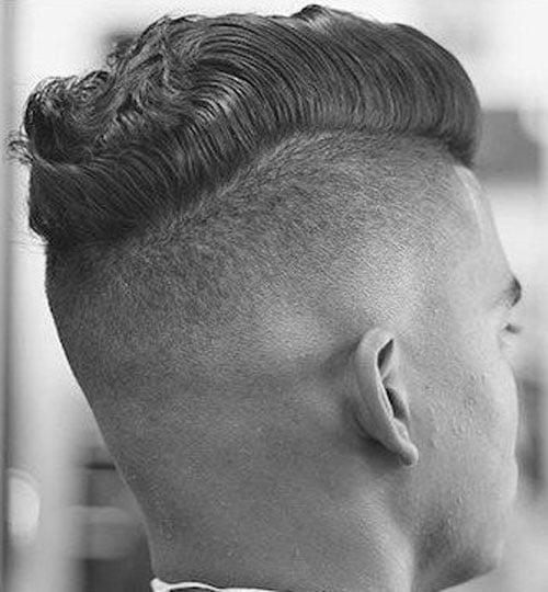 Undercut Hairstyle - Short Undercut with wavy hair