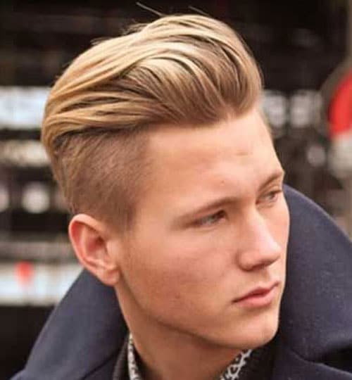 Undercut Hairstyle Men - Pompadour Undercut