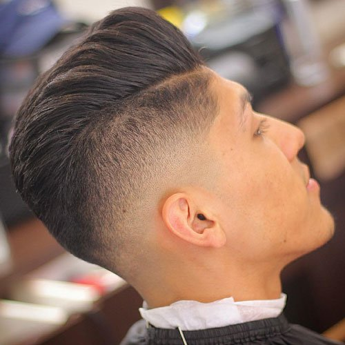 Undercut Hairstyle with Modern Pompadour