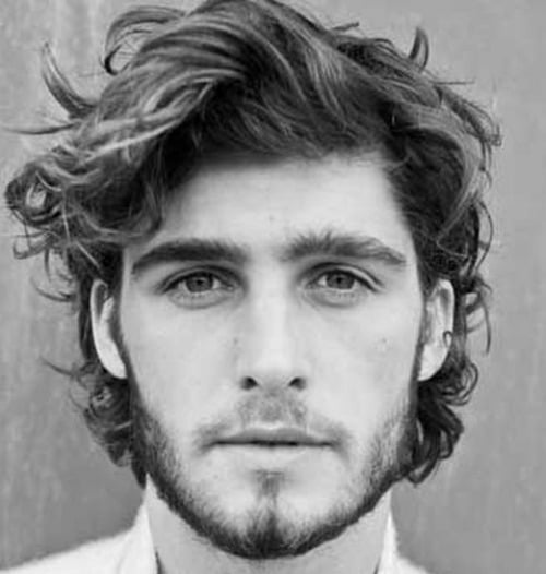21 Wavy Hairstyles For Men Men S Hairstyles Haircuts 2017