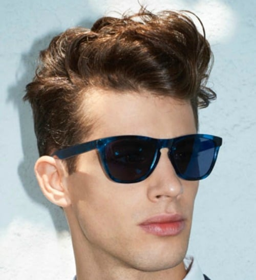 Superb 21 Wavy Hairstyles For Men Men39S Hairstyles And Haircuts 2017 Short Hairstyles For Black Women Fulllsitofus