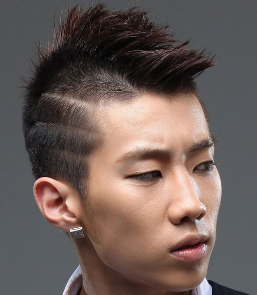 Asian Undercut Men