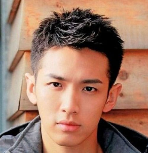 Asian Men Short Hair 110