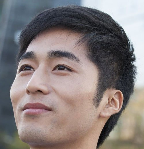 hairstyle men asian-#28