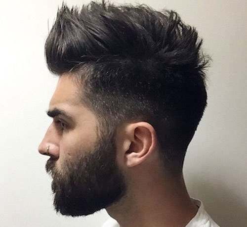 Beard Styles - Short Hair with Beard