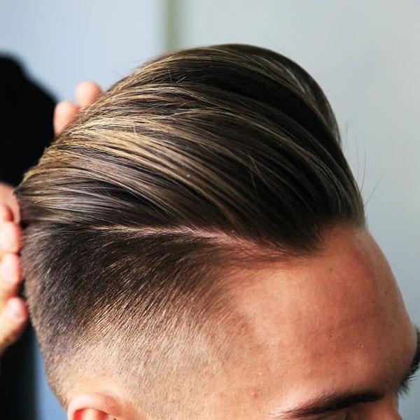 Cool Pompadour Haircut