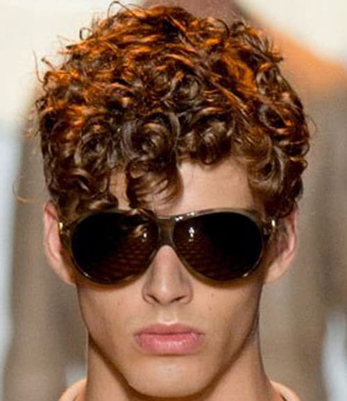 Peachy Curly Hairstyles For Men Men39S Hairstyles And Haircuts 2017 Short Hairstyles Gunalazisus