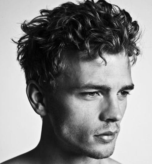 Wondrous Curly Hairstyles For Men Men39S Hairstyles And Haircuts 2017 Short Hairstyles Gunalazisus