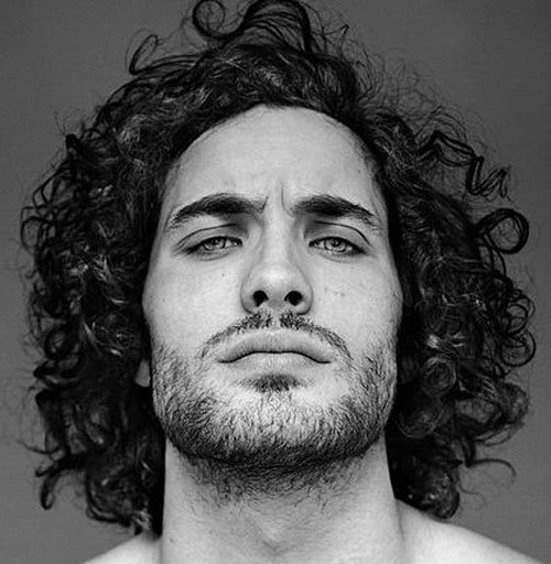 Curly Hairstyles For Men | Men's Hairstyles + Haircuts 2018