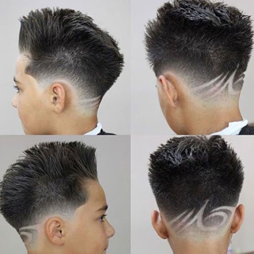 barber hair designs for men - photo #14
