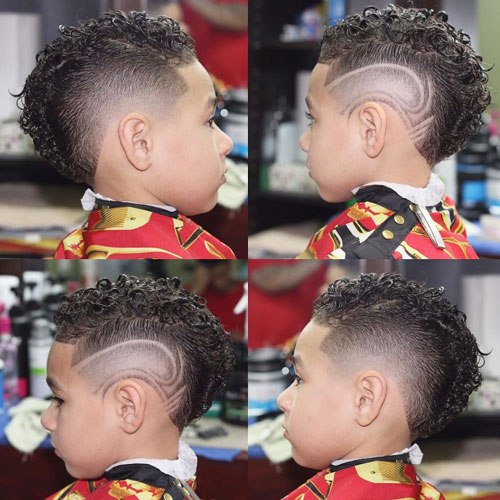 Haircut Designs For Kids