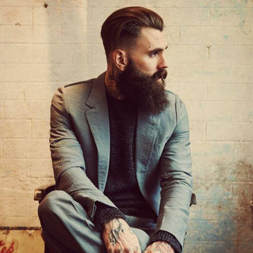 33 beard styles for 2017 men 39 s hairstyles haircuts 2017. Black Bedroom Furniture Sets. Home Design Ideas