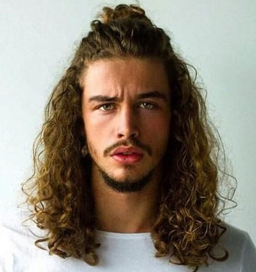 Terrific Curly Hairstyles For Men Men39S Hairstyles And Haircuts 2017 Short Hairstyles For Black Women Fulllsitofus