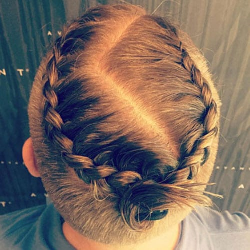 Pleasing Braids For Men 15 Braided Hairstyles For Guys Men39S Hairstyles Hairstyles For Men Maxibearus